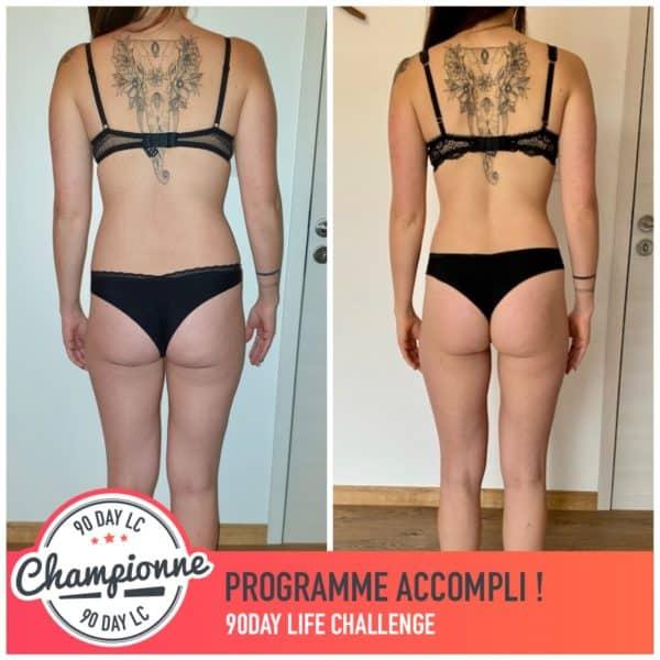 Amélie transformation Thibault Geoffray Coaching