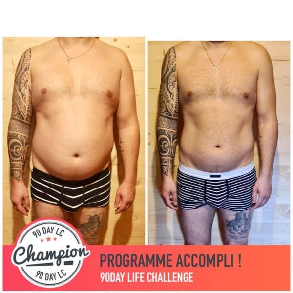 Filipe transformation Thibault Geoffray Coaching