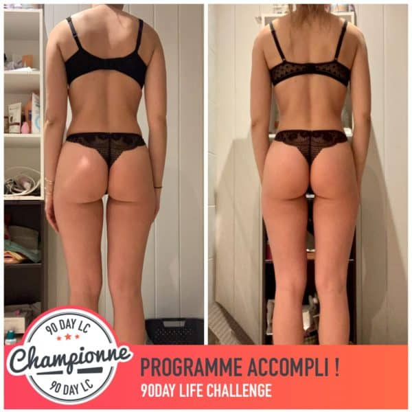 Clara transformation Thibault Geoffray Coaching