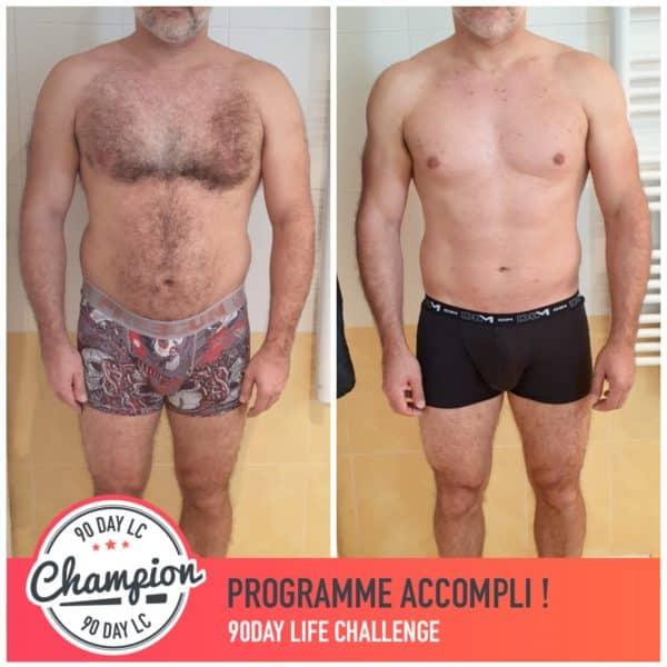 Jean Pierre transformation Thibault Geoffray Coaching