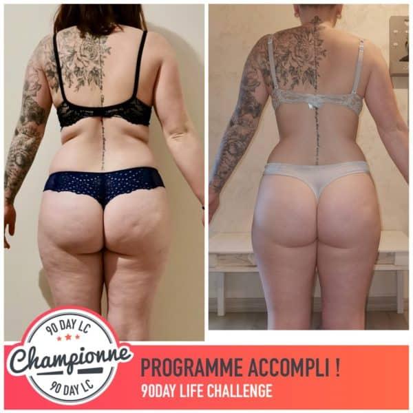 Jessica transformation Thibault Geoffray Coaching