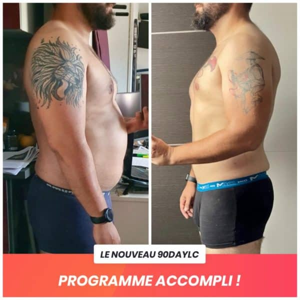 Benoit transformation Thibault Geoffray Coaching