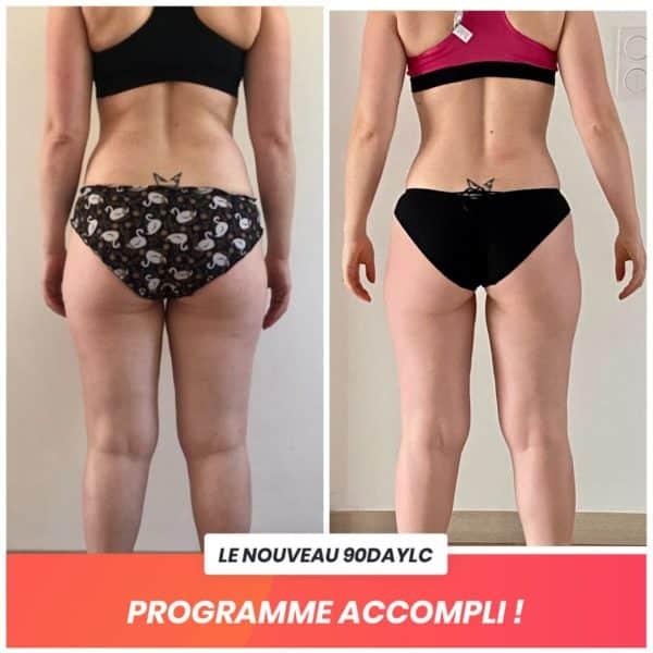 Elise transformation Thibault Geoffray Coaching
