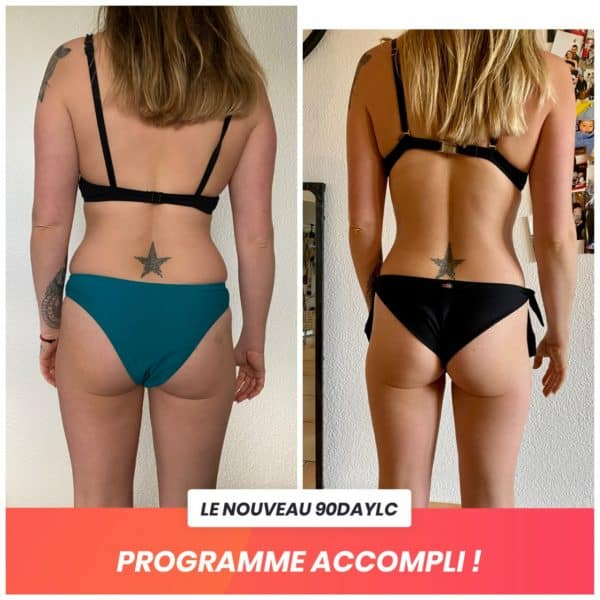 Camille transformation Thibault Geoffray Coaching