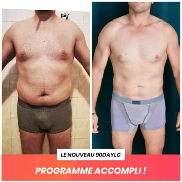 Alexandre transformation Thibault Geoffray Coaching