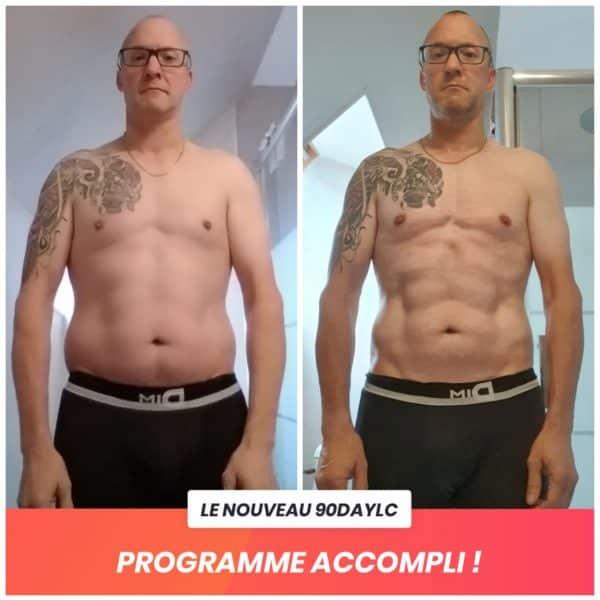 Cyril transformation Thibault Geoffray Coaching