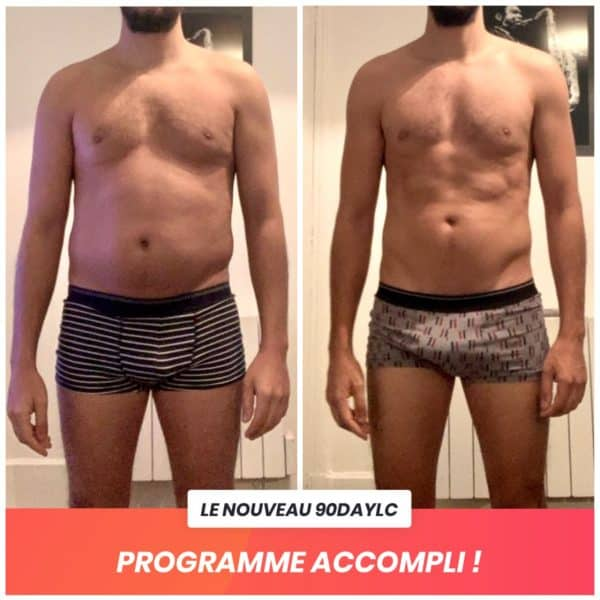 Yann transformation Thibault Geoffray Coaching