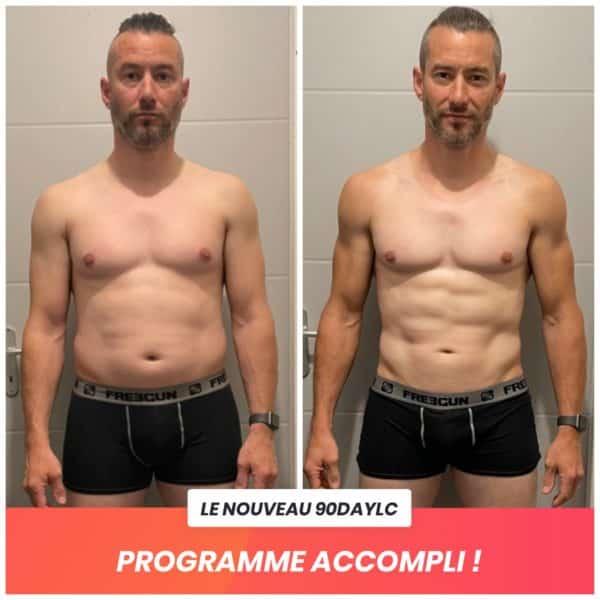 Nicolas transformation Thibault Geoffray Coaching