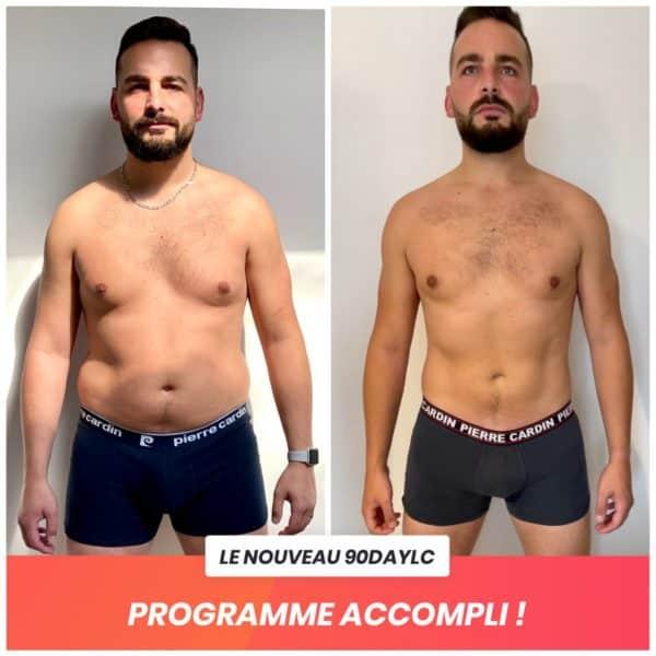Vincent transformation Thibault Geoffray Coaching