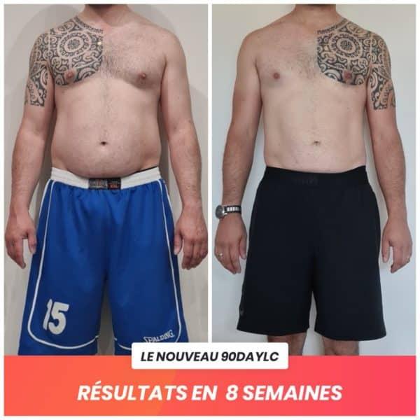 Lionel transformation Thibault Geoffray Coaching