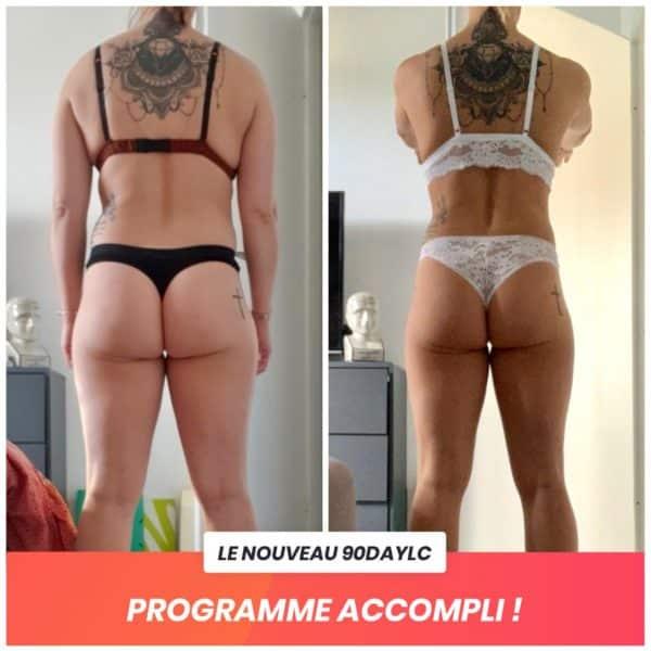 Claire transformation Thibault Geoffray Coaching