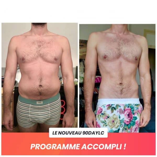 Godefroi transformation Thibault Geoffray Coaching