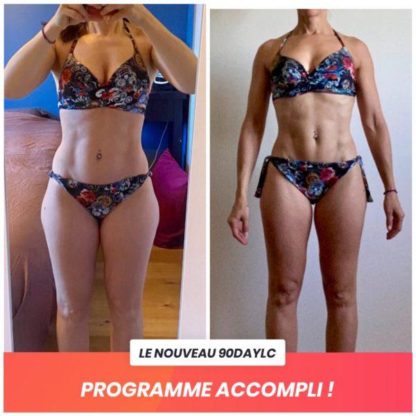 Sabrina transformation Thibault Geoffray Coaching